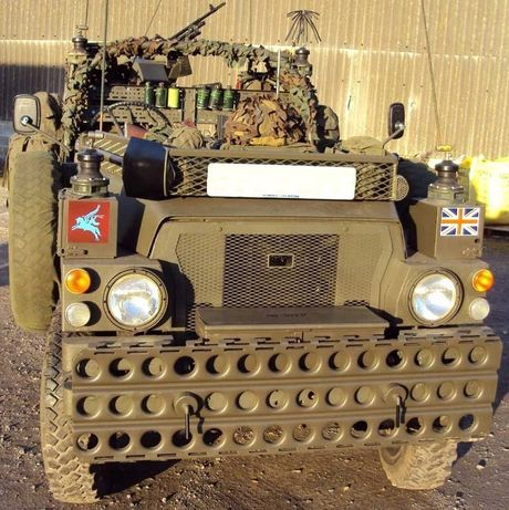 Trapy off road wojskowe najazd blacha 305cm