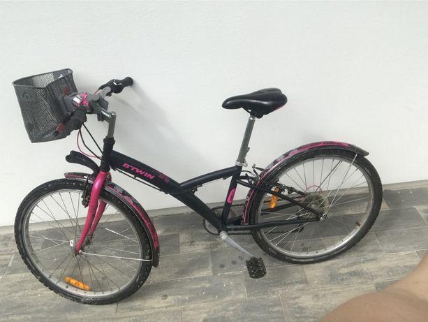 Rower 24 Btwin dla dziewczynki Łódź