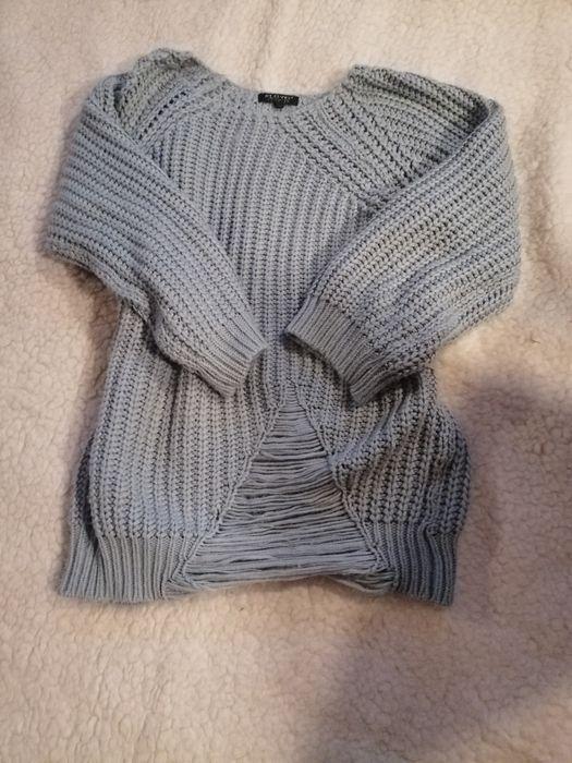 Szary sweter w modnym stylu Bolesławiec - image 1