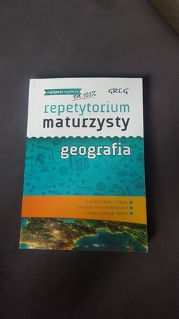 Repetytorium maturzysty geografia GREG
