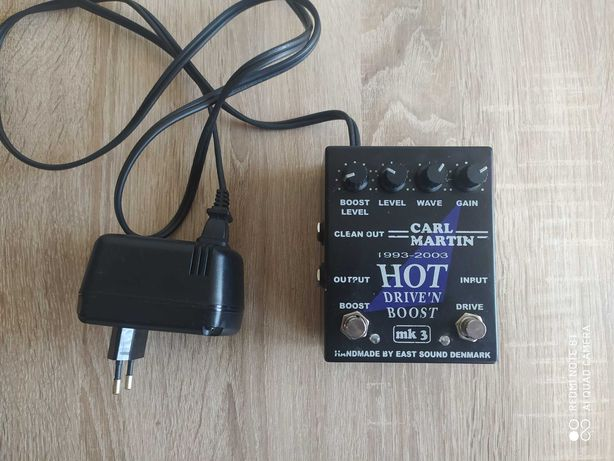 Carl Martin overdrive hot driven boost mk3