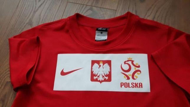 Koszulka Nike Polska reprezentacji Polski Nowa 152/158
