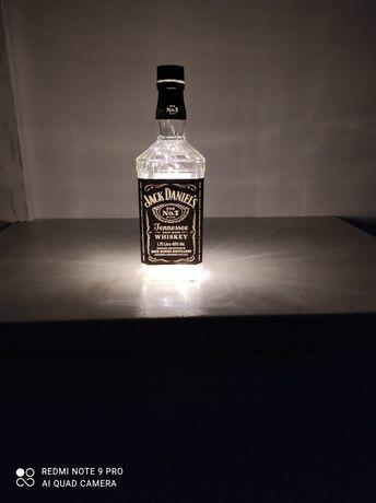 Jack Daniels podświetlana butelka