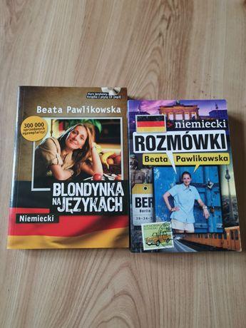 Blondynka na językach niemiecki, rozmówki niemiecki Pawlikowska
