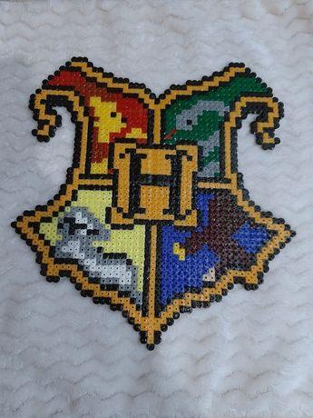 Obrazek herb Hogwart Harry Potter Gryffindor, Slytherin
