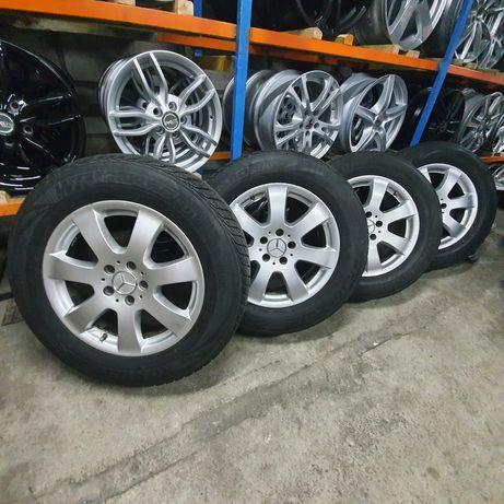 Koła Aluminiowe Mercedes Opony Nexen 235/65R17 + Felgi 7.5JX17 5X112