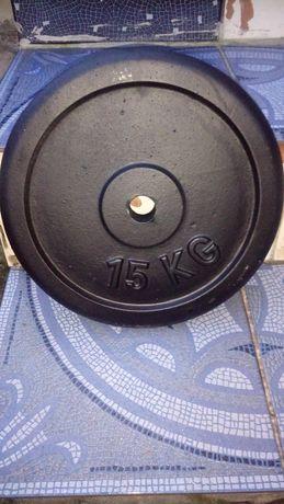 Zestaw obciążenia 20 kg 15 kg 10 kg