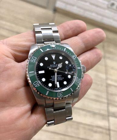 "Rolex Submariner ""Kermit"" 126610LV кастом 1:1"
