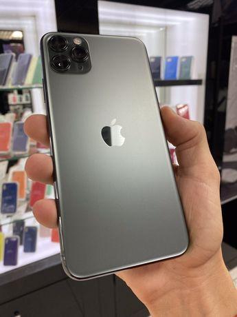 ИДЕАЛ!iPhone 11 Pro Max 256GB Green Про Макс Зеленый Neverlock МАГАЗИН