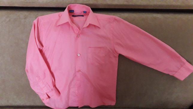Рубашка мальчику рост 116-128