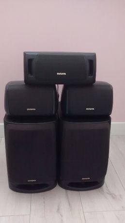 Kolumny głośnikowe stereo aiwa Sx-NV90 - zestaw 5 szt.