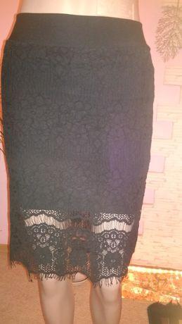 юбка кружевная.