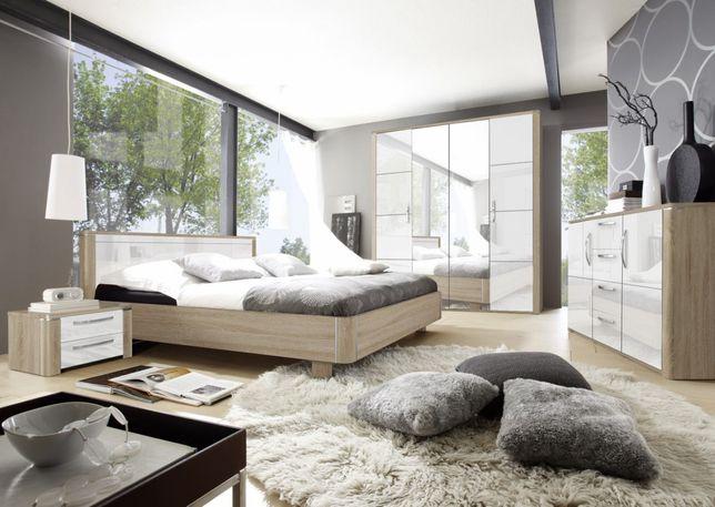 Meble SENSO II szafa, komoda, łóżko