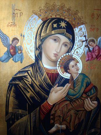 Ícone da Virgem Maria e Menino Jesus