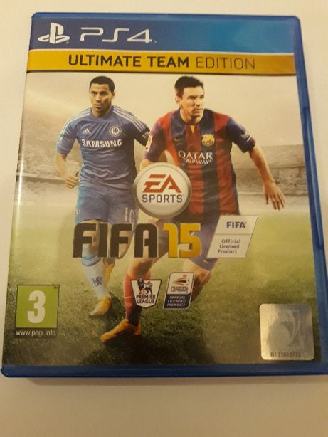 FIFA 15 2015 PL PS4 Play Station - Ultimate Team Edition *KR