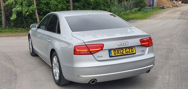 Audi A8 D4 3.0TDI SE V6 Tiptronic Quattro Anglik 2012r Ładna! Zadbana!