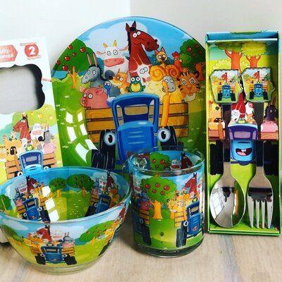 Набор для ребенка Синий трактор