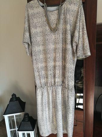 Złoto-srebrna suknia