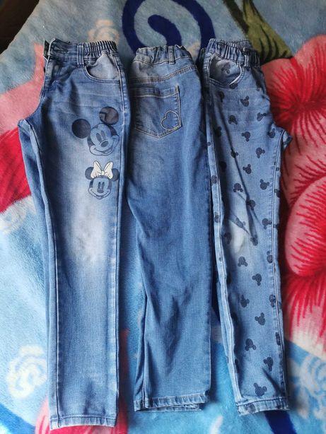 Lote calças de ganga 6/7 anos (116 /121cm)