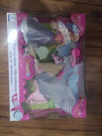 WYPRZEDAŻ!!! ELEFUN Magiczny zestaw lalka i jednorozec zabawka dzieci
