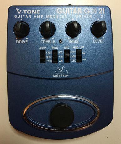BEHRINGER GDI 21 V-TONE DRIVER DI efekt do gitary lub gitary basowej