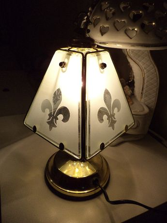 """светильник ночник настольная лампа """"Геральдическая лилия"""" сенсорный"""