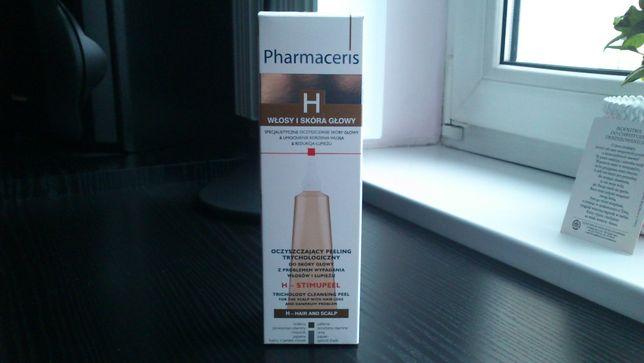 Pharmaceris włosy skóra głowy oczyszczanie peeling Nowy 125ml