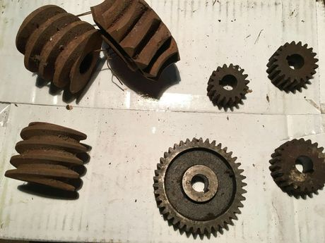 Rodas dentadas ferro fundido