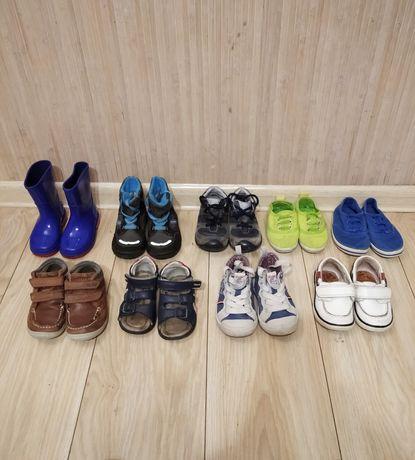 Пакет детской обуви, набор ботинки сапожки туфли кеды чоботы босоножки