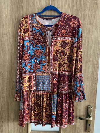 Sukienka jesienna Zara