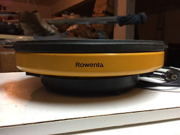 Grelhador Rowenta nunca usado grelha em ferro fundido