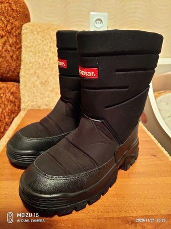 Зимние сапоги, ботинки,чоботи 34 размер