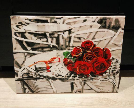 Róże czarno-białe