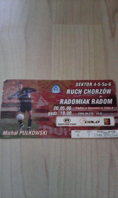 Ruch Chorzów-Radomiak Radom 20.05.06