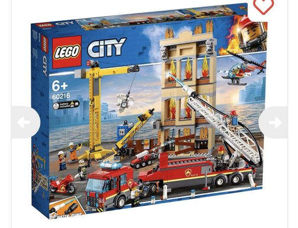 Lego City 60216 Міська пожежна станція