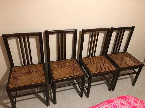 Cadeiras palhinha