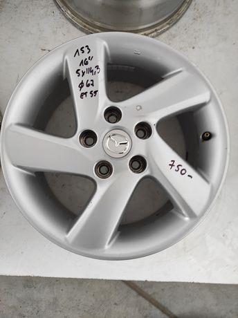 153 Felgi aluminiowe ORYGINAŁ MAZDA R 16 5x114,3