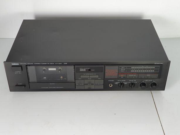 Yamaha KX 200 MAGNETOFON deck kaseta SPRAWNA sprawdź inne