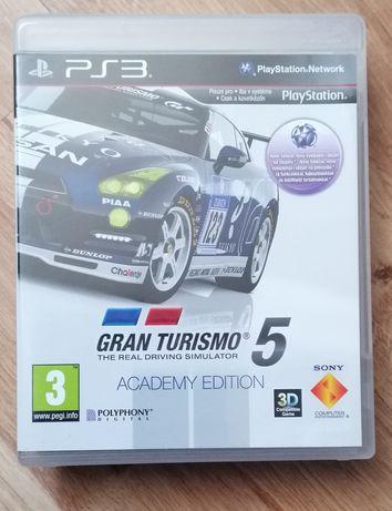 Gra na Ps3 Gran Turismo  5 Akademy Edition Pl