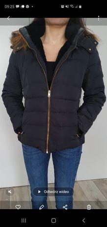 Kurtka zimowa puchowa firmy Zara