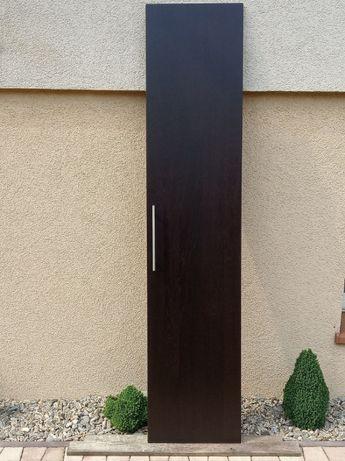 Drzwi do szafy PAX Ikea czarno brąz.