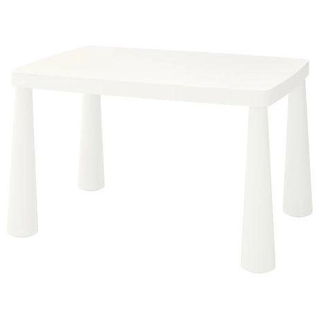 Детский столик ИКЕА МАММУТ, IKEA MAMMUT белый, красный В НАЛИЧИИ!!!