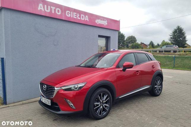 Mazda CX-3 2.0B, 120KM, Automat, Polski salon, Serwis ASO, Gwarancja