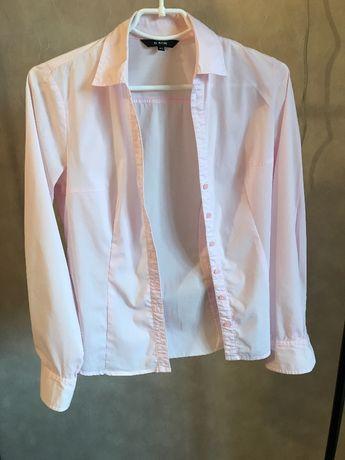 Продам женскую розовую рубашку Ostin,Mango,H&M