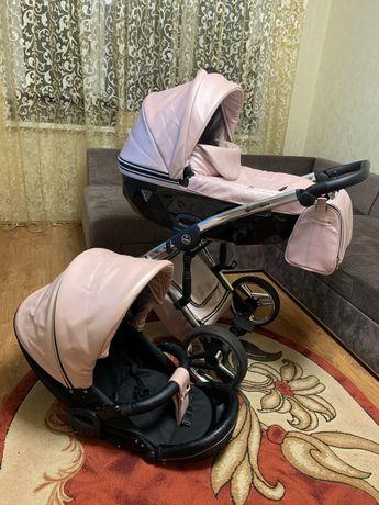 Дитяча  коляска 2 в 1 Junama Diamond Fluo Line 06