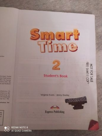 Sprzedam podręcznik Smart time  2