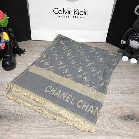 Шарф Scarves Chanel Double C Metalic