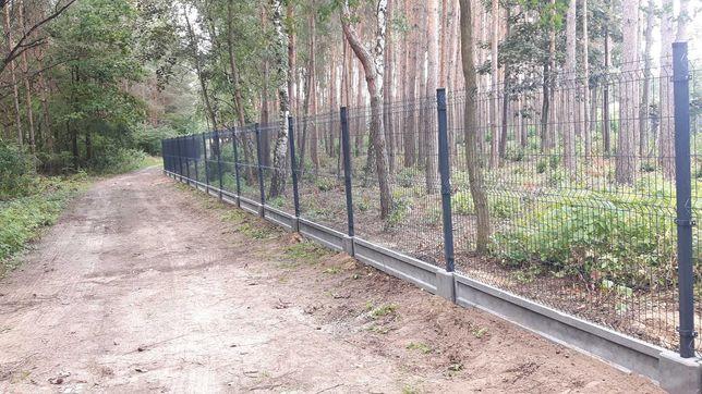 Ogrodzenie panelowe  Panel ogrodzeniowy 1.5 m fi 4mm, panel 51 drutów