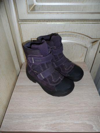 Ботинки, сапоги Ecco GORE-TEX, 30р., 19,5см.