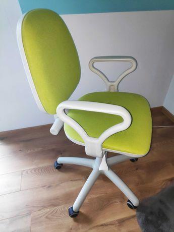 Fotel obrotowy zielony